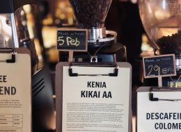 Molino De Café En Monkee Koffee