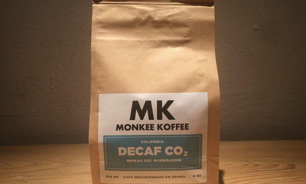 Monkee Koffee - Decaf CO2 Colombia Brisas